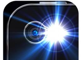 Flashlight mobile phone