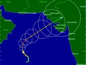 Nilofar route ( source- tropicalstormrisk.com)