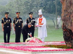 Pranab homage to Indira Gandhi