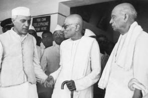 Nehru, Rajgopalachar, Patel ( courtesy- forbesindia.com)