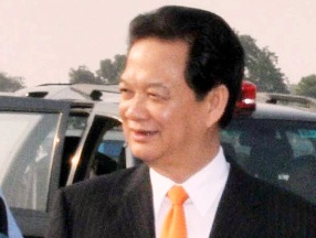 Vietnamese Prime Minister Nguyen Tan Dung