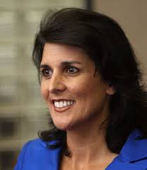 Nikki Haley: Re-elected as Governor of South Carolina