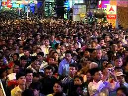 puja crowd in bhubaneswar