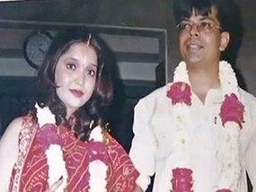 Sankalp Anand & wife Nandini