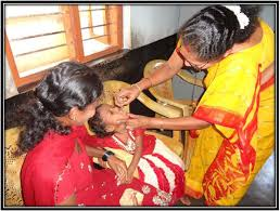 File Pic of an ASHA worker administering polio drops to a child