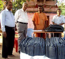 blanket distribution 167