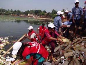 Clean Bindusagar pollution