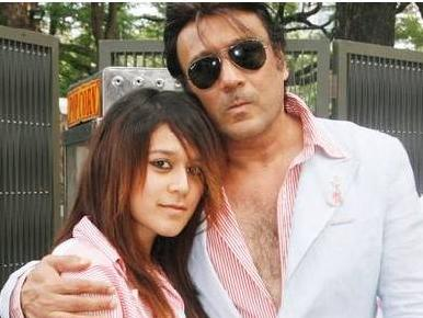 jackie Shroff with daughter Krishna