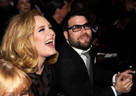 Adele & Simon Konecki (Courtesy www.nydailynews.com)