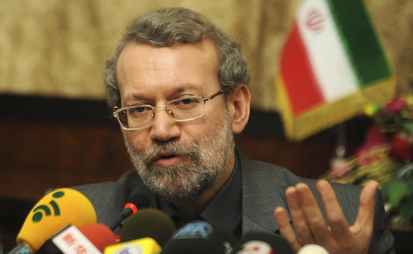 Ali Larijani (Courtesy Wilayah News)