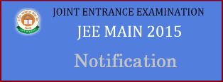 JEE Main Exams-2015