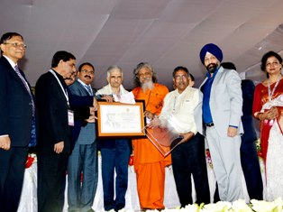Prof Banikanta Mishra, Eminent Commerce Educationist of Odisha awarded with MM Saha Memorial Award