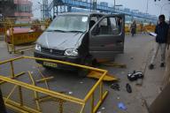 delhi cops mowed down