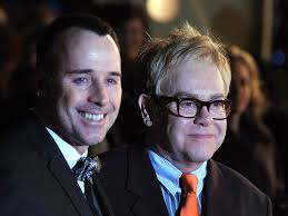 elton john with david furnish