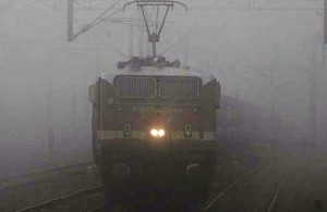 fog affects train