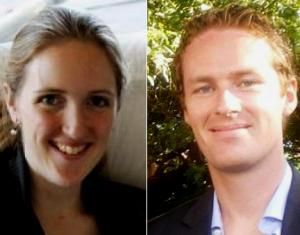 From left: Katrina Dawson, 38, and Tori Johnson, 34, have been identified by local media as the two hostages killed inside of the Sydney cafe (courtesy:www.nydailynews.com)