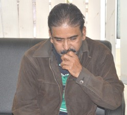 Pradeep Das, Director of Flourish India after his arrest by EOW on Wednesday (Pic: Biswaranjan Mishra)
