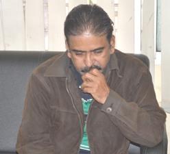 Pradeep Das, Director of Flourish India after his arrest by EOW on Wednesday (Pic: Biswaranjan Mishra)