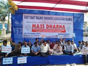 railway engineers strike