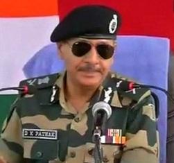 BSF DG DK Pathak