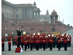Beating Retreat in New Delhi