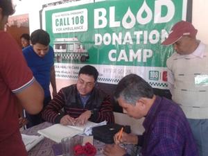 Blood Donation camp at Balasore