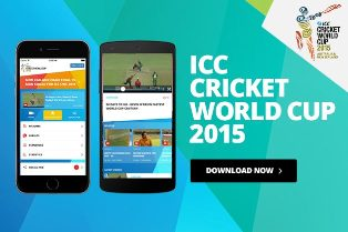 ICC world cup cricket app