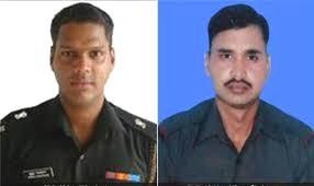 Major Mukund Varadarajan and Naik Neeraj Kumar Singh