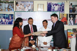 MoU with Mayo Clinic