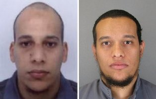 Cherif Kouachi, left, 32, and his brother, Said Kouachi, 34, who are suspected in a deadly attack on a satirical newspaper in Paris. (Pic courtesy: www. nytimes.com)