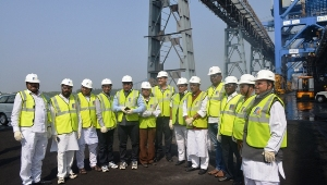 Photo 2_ House Committee members during visit of Dhamra Port