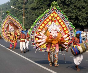 Dress reheasal for I Day parade in Bhubaneswar (OST Photo)