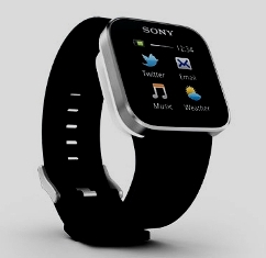 Sony mobile watch