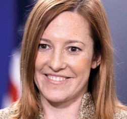 State Department spokesperson Jen Psaki
