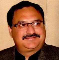 Union Health Minister JP Nadda