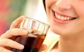 WOMAN DRINKS