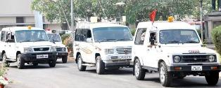 Bullet proof SUV for Odisha CM