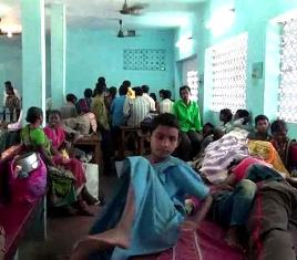Rescued Odisha labourers