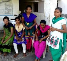 Rescued women