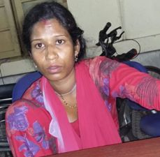 The distraught mother whose four year old son went missing from the Bhubaneswar railwway station on Friday night