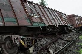 derailed good train