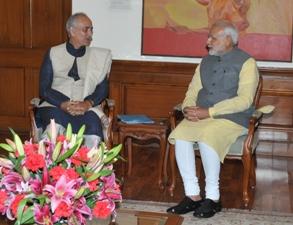 gajapati meets pm