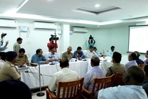 Review of Nabakalebara  preparedness in Puri (Pic: Biswaranjan Mishra)