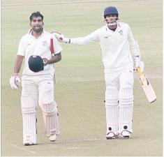 The two heroes of the Odisha win: Govind Podder and Anurag Sarangi