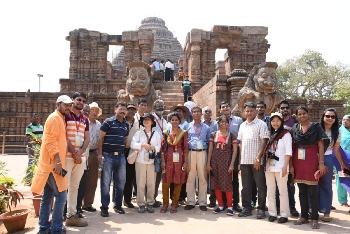 IOR Conference delegates at Sun Temple Konark_2