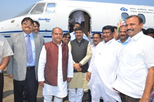 Photo of  Ministers visit