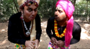 A Still from the film'Hoyto Kobitar Jonyo'
