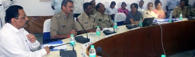 cuttack guni garedi rokiba payi crime branch office re meeting (2)