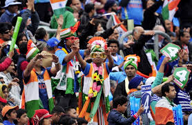indian fans at world cup