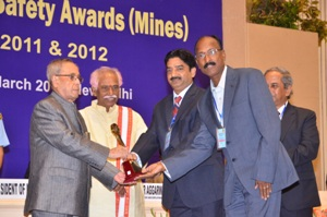 safety award for sukinda mines